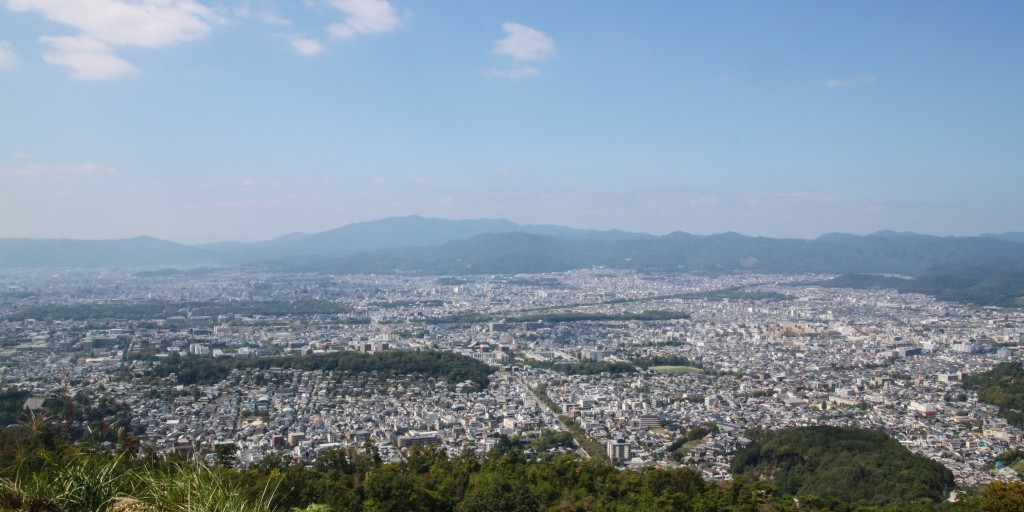 View from Mount Daimonji