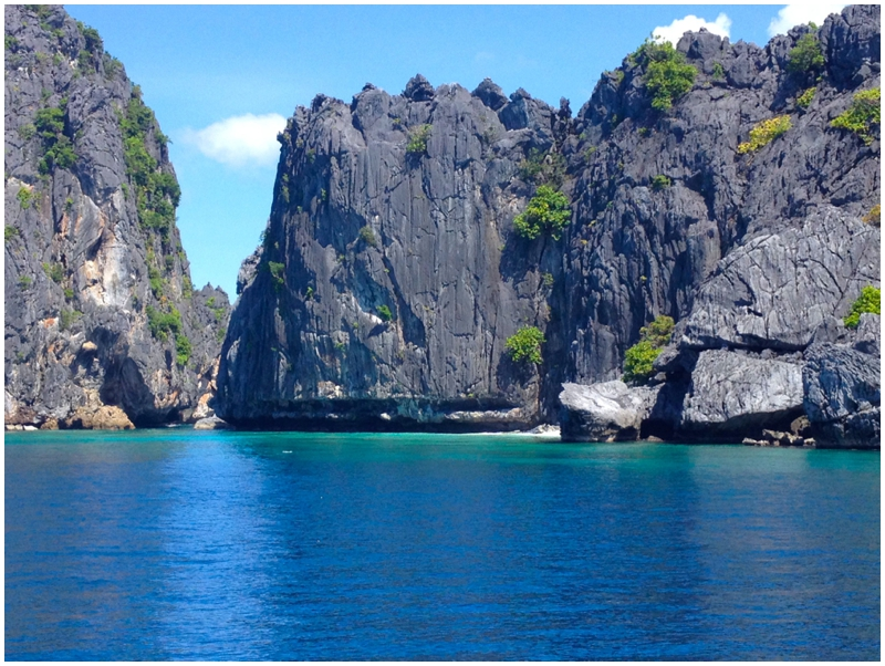 El Nido Tour A Limestone Cliffs