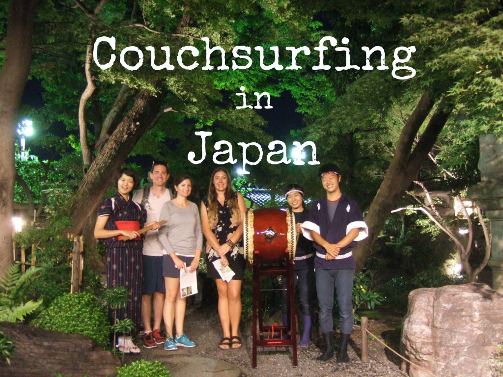 Couchsurfing in Kyoto Japan