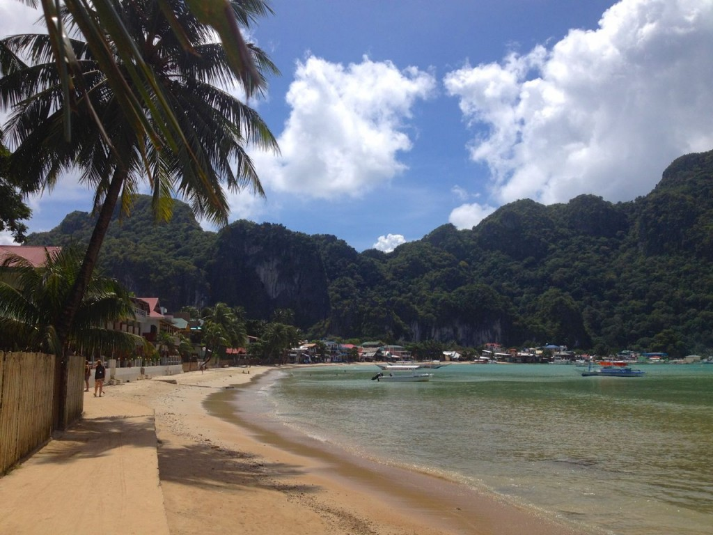 Beach at El Nido