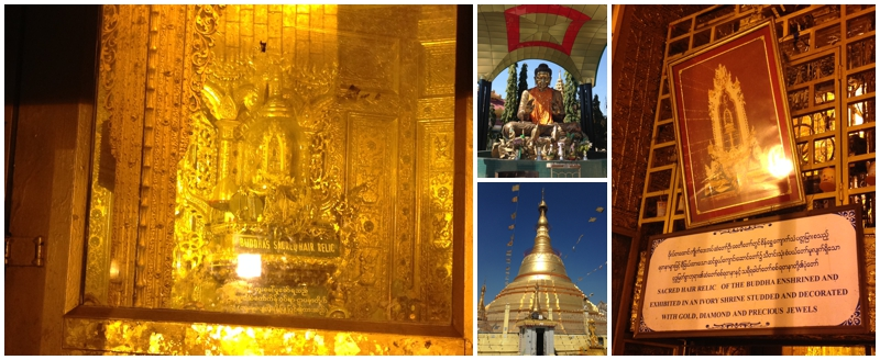 Buddha Hair Relic at Botataung Pagoda