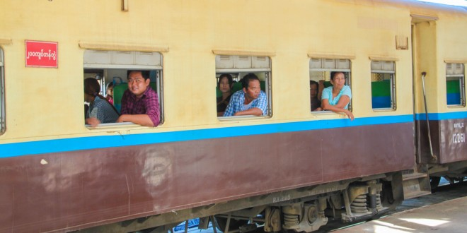 Throw Momma From The (Yangon) Train