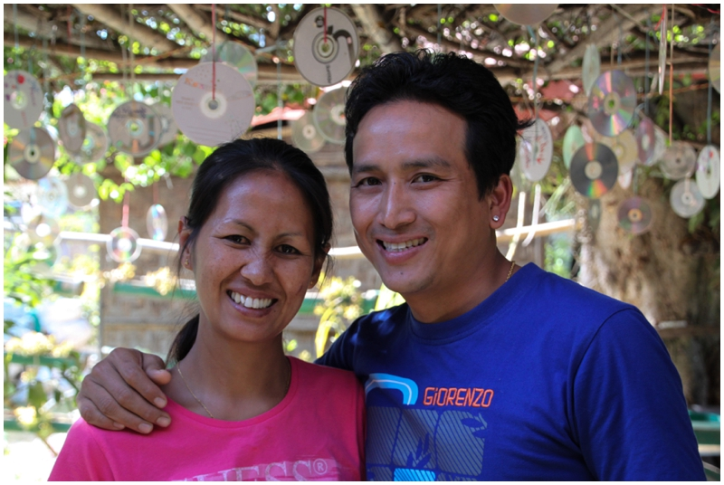 Bamboo Delight Cooking School Owners