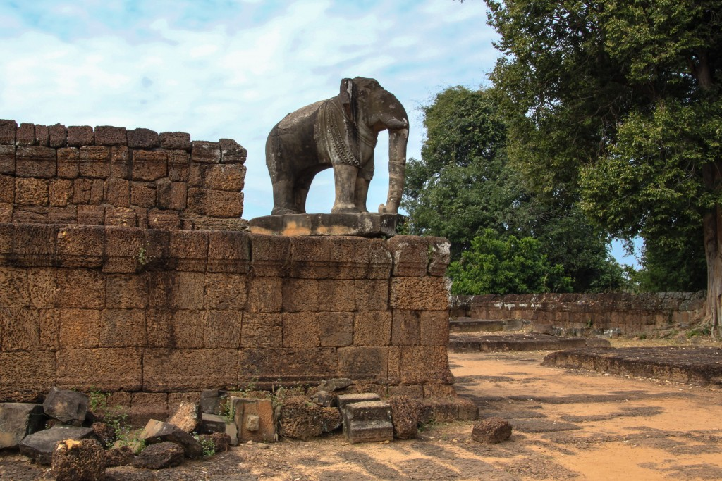 Mebon Temple Elephant