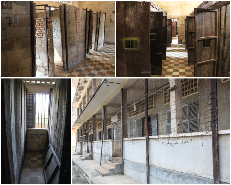 Tuol Sleng Prisoner Cells