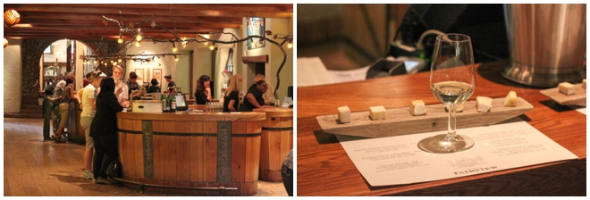 Fairview Wine and Cheese Tasting