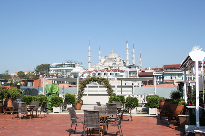 Armada Hotel View of Blue Mosque