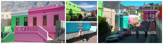 Colorful Houses Cape Town