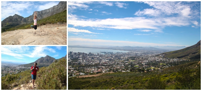Hiking Table Mountain in Cape Town