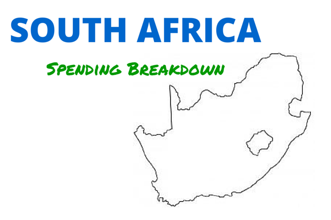 South Africa Spending Breakdown