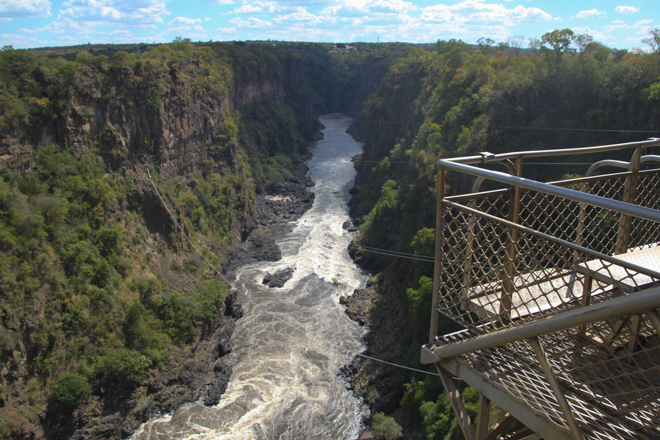 Victoria Falls Bungee Jump