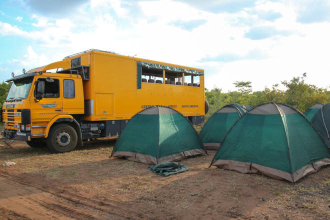 Bush Camping with Oasis Overland