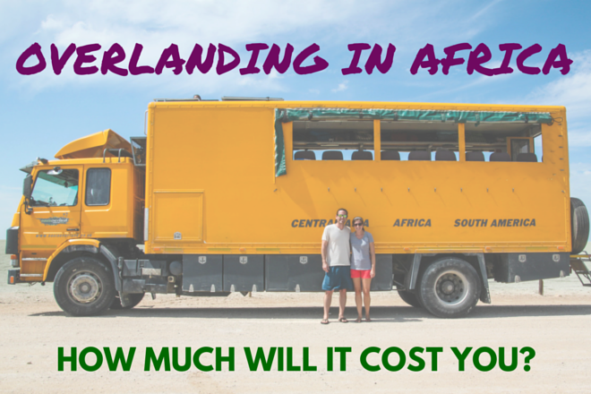 How much does it cost to overland in Africa?
