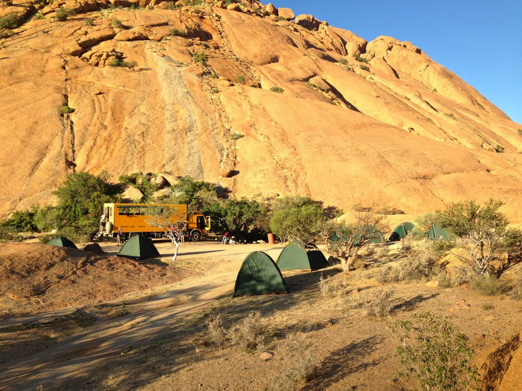 Spitzkoppe Bush Camp in Nambia