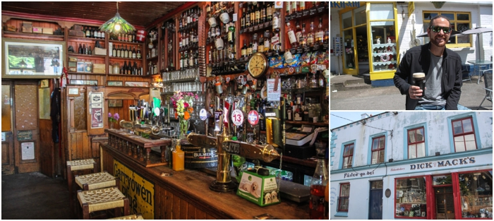 Dick Mack's is a traditional Irish pub in Dingle, Ireland
