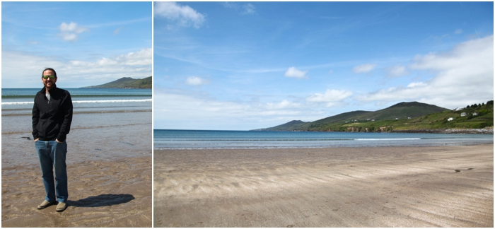 Inch Beach Dingle Peninsula in Ireland