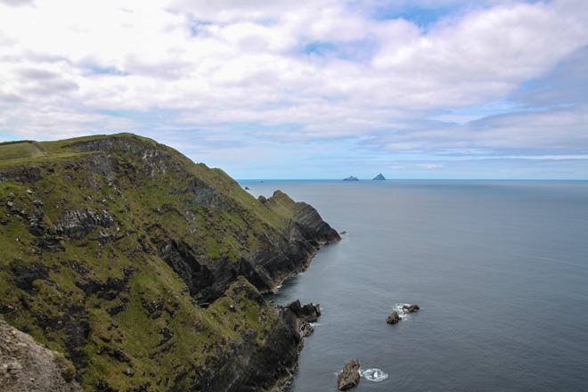 Cliff views from Ring of Kerry