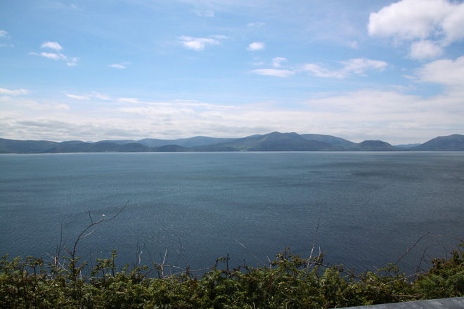 View of Ring of Kerry from Dingle Peninsula