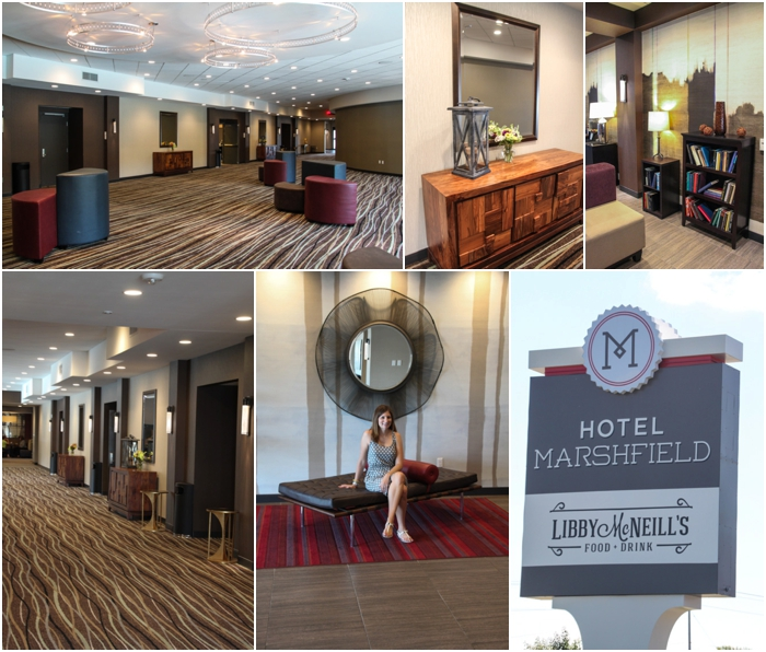 Hotel Marshfield was completely renovated in 2013!