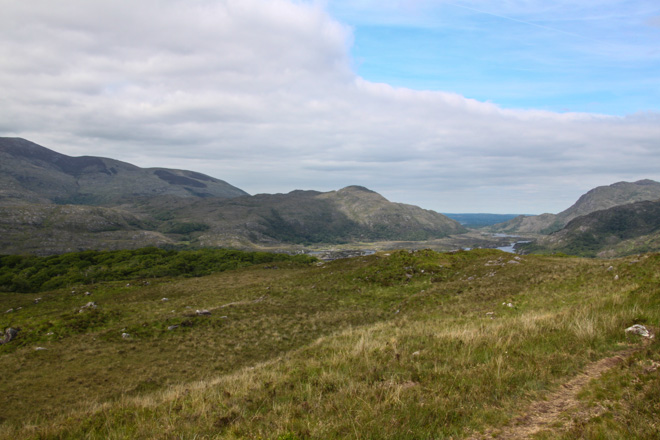 Ladies view stop Ring of Kerry in Ireland