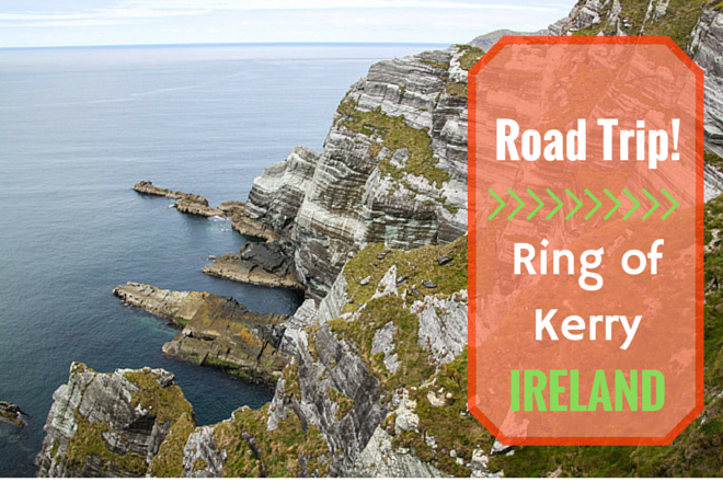 Road trip on the Ring of Kerry in Ireland