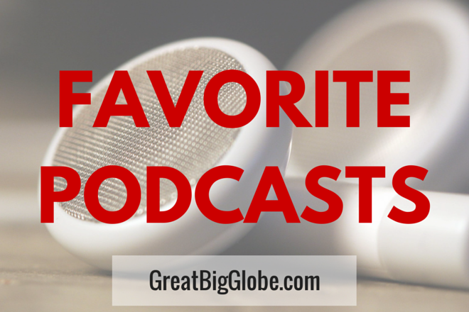 Our favorite podcasts to listen to