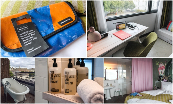 Room features of 25hours Hotel Museumsquartier in Vienna