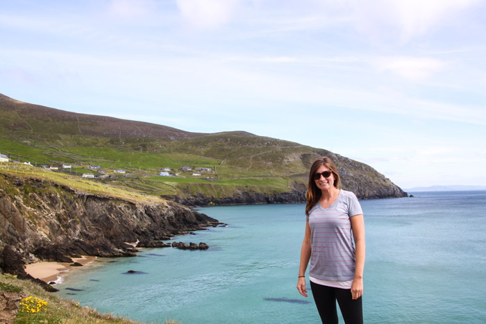 Alana on the Dingle Peninsula