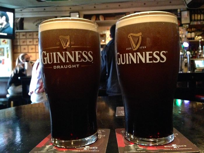 Guinness in Portmagee