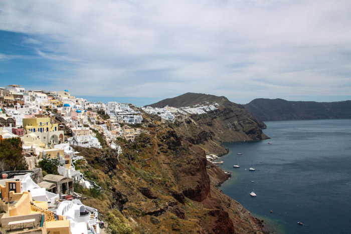 Oia Santorini is a beautiful town
