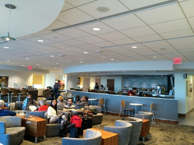 The Club at ATL airport lounge in Atlanta
