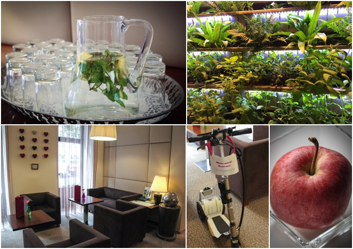 An eco friendly welcome at Boutique Hotel Stadthalle