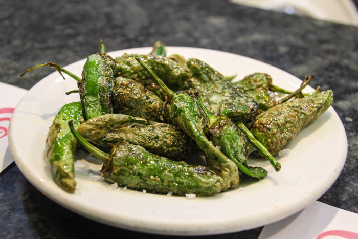 Padron Peppers in Barcelona