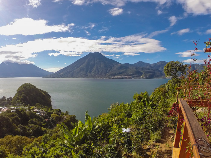San Marcos La Laguna on Lake Atitlan