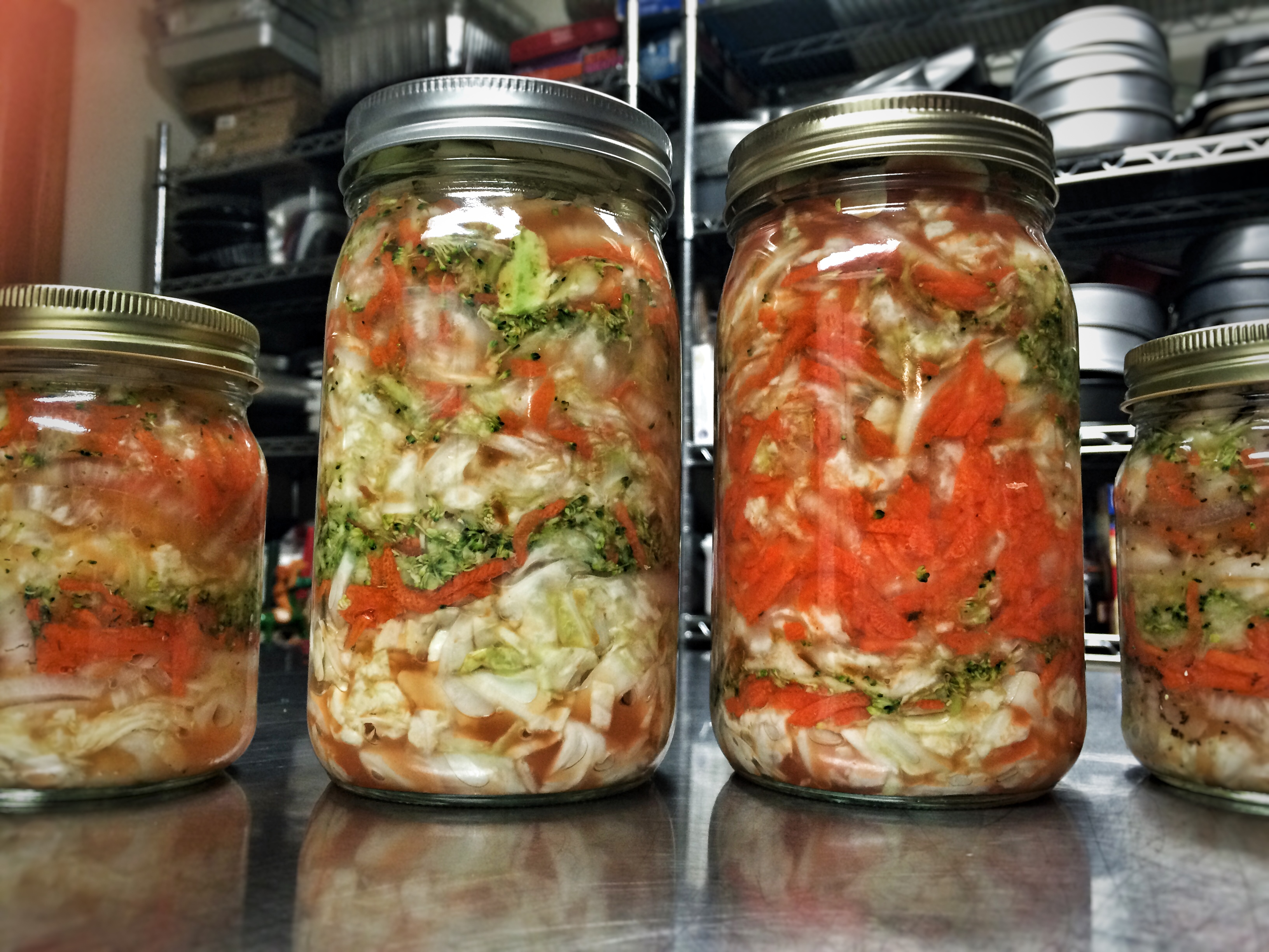First batch of sauerkrat