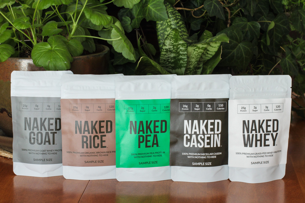 Naked Nutrition Protein Powders
