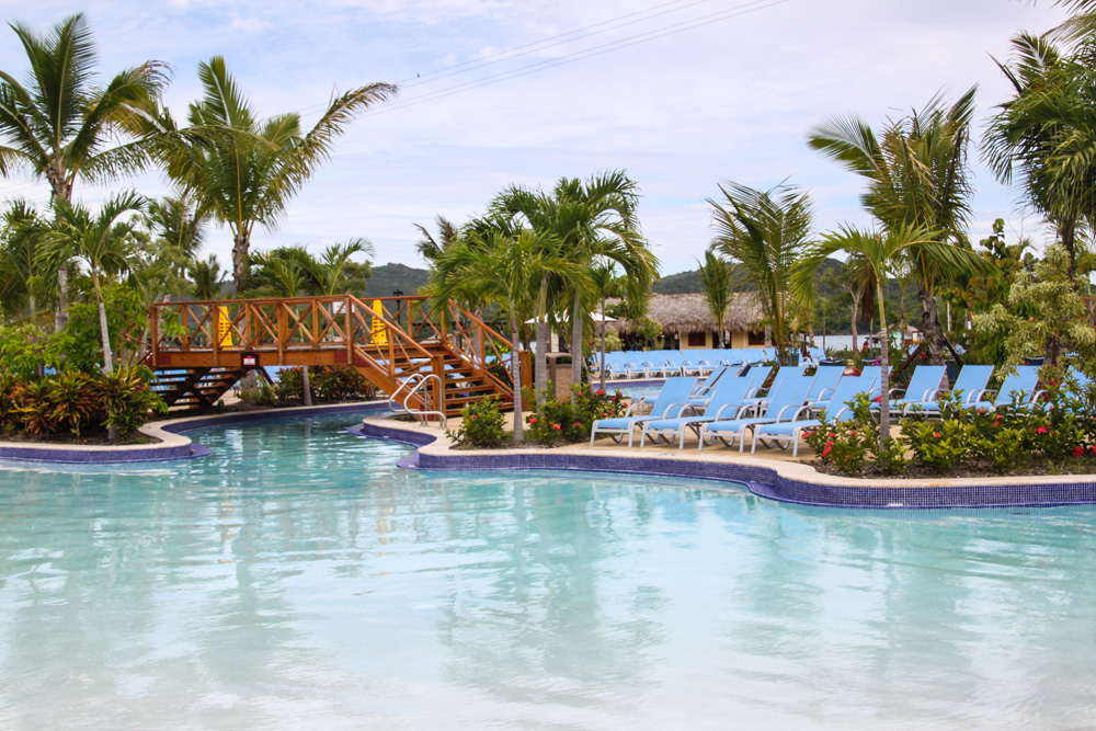 The pool at Amber Cove in the Dominican Republic