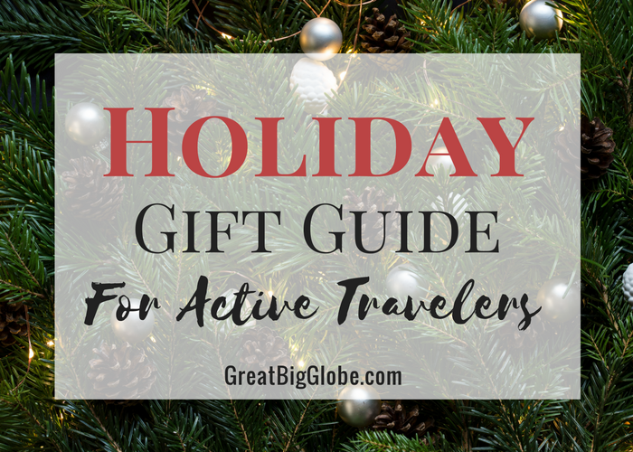 Our holiday gift guide is full of awesome tools for active travelers!