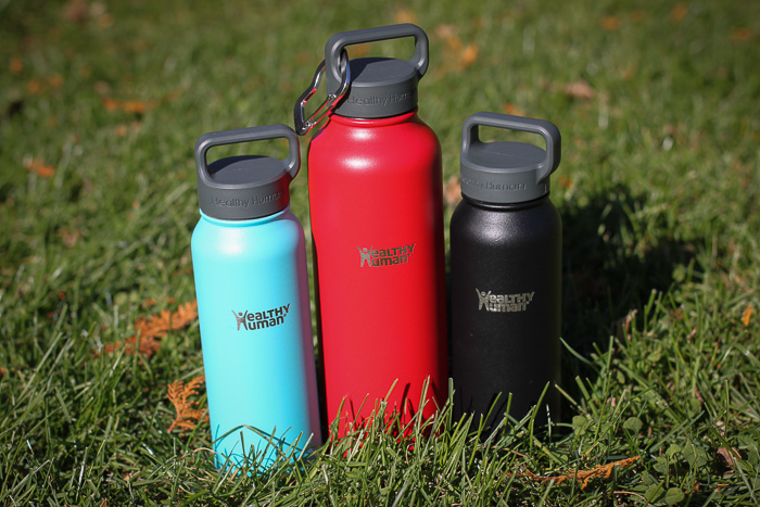 Healthy Human Water Bottles are perfect for travelers are on the go!