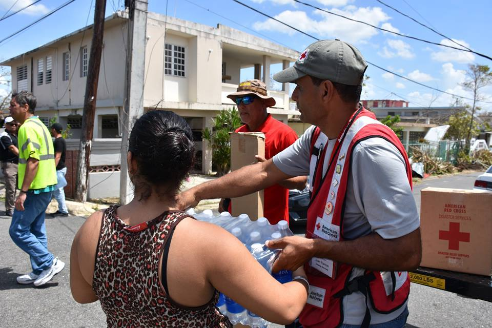 American Red Cross in Puerto Rico